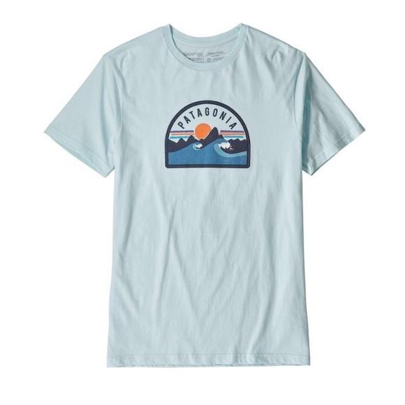 980ca1bf57 Patagonia Shirts   Boardie Badge Organic Cotton Tshirt   Poshmark